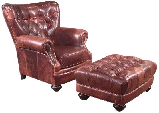 Top Grain Leather Sofa Carolina
