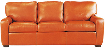 Top Grain Leather Sofa Divani Classic Leather Legacy